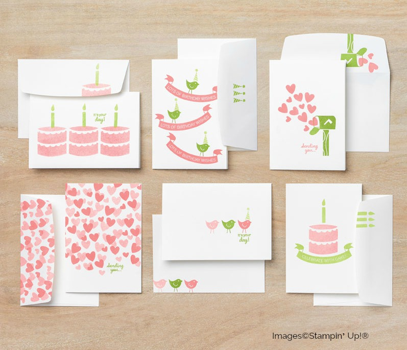 create with cake Stampin up