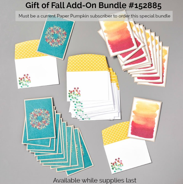 Gift of Fall Add-On Bundle