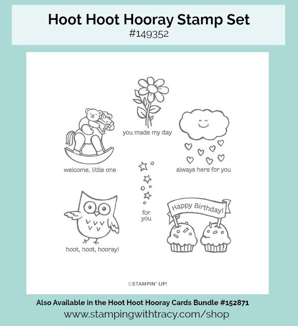 Hoot Hoot Hooray Stamp Set