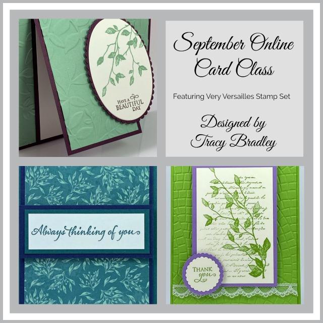 September Online Card Class