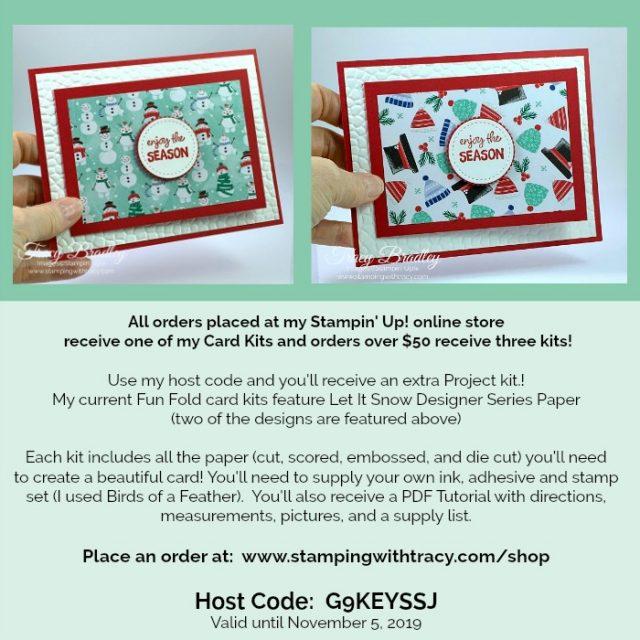 Tracy's Card Kits