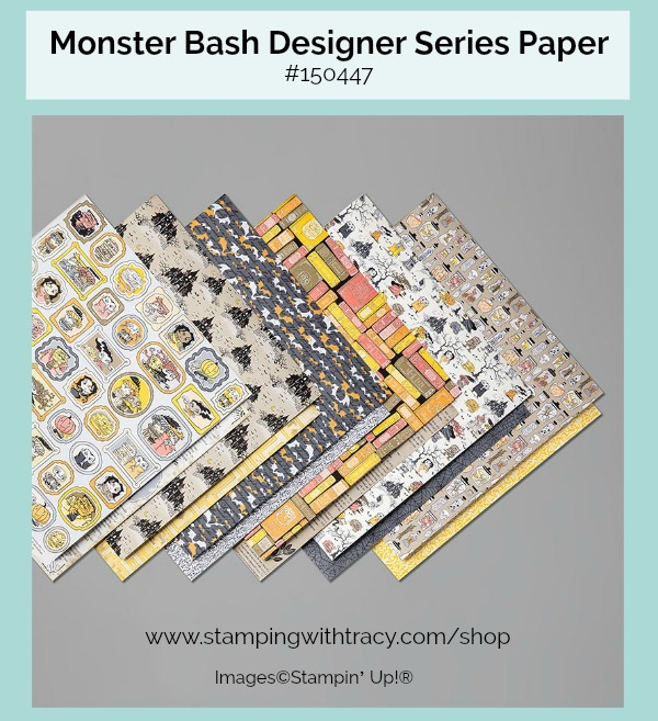 Monster Bash Designer Series Paper