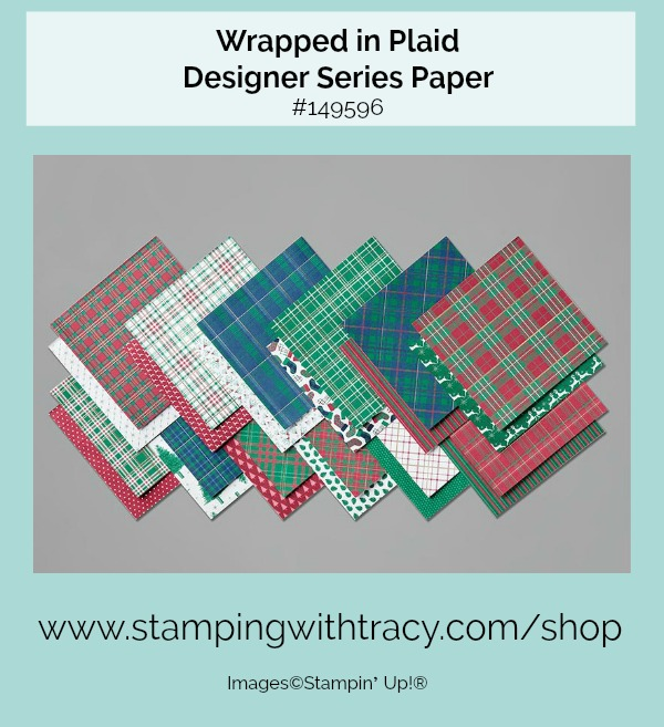 Wrapped in Plaid Designer Series Paper