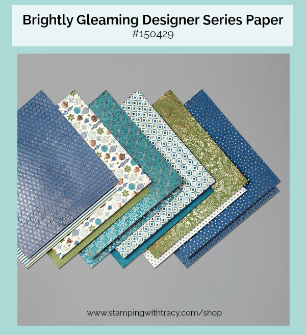 Brightly Gleaming Designer Series Paper