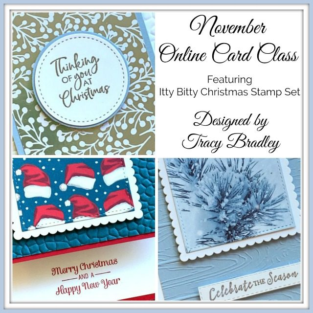 November Online Card Class