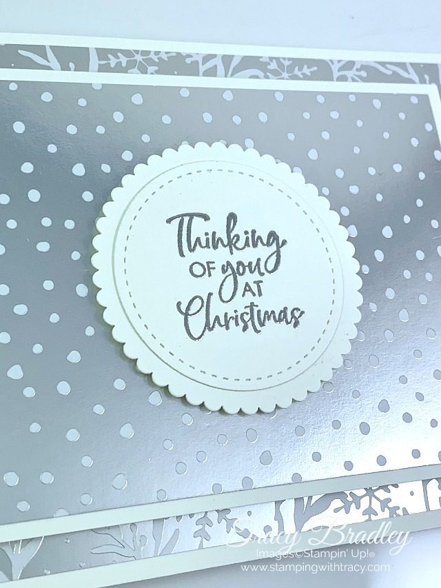 itty bitty Christmas stamp set