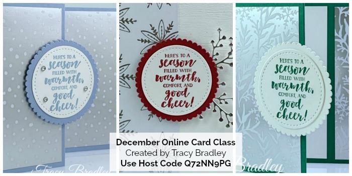 December Online Card Class