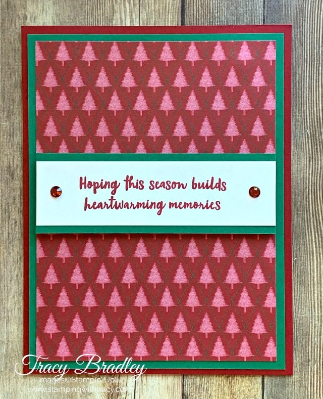 Wrapped in Plaid Stampin' Up!
