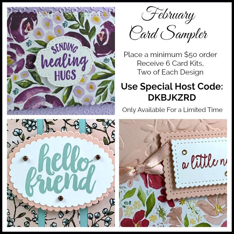 February Card Sampler