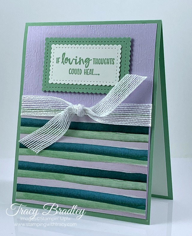 Sending You Thoughts stamp set
