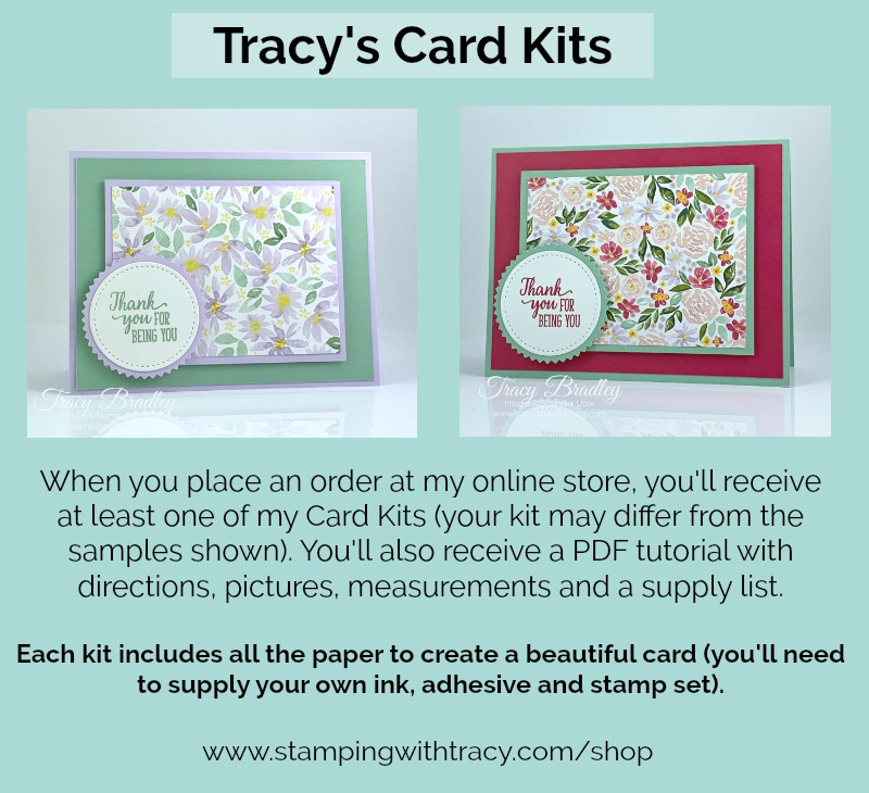Stamping with Tracy Card Kits