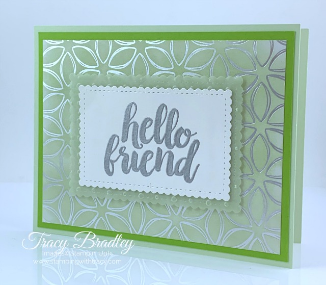 Heat Embossing Stampin Up