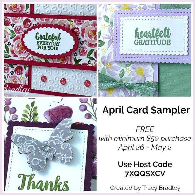 April Card Sampler