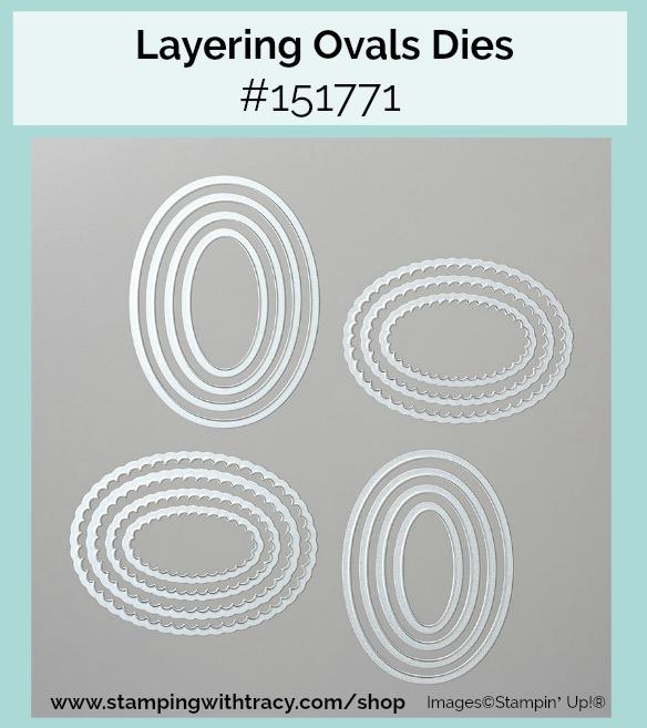 Layering Ovals Dies