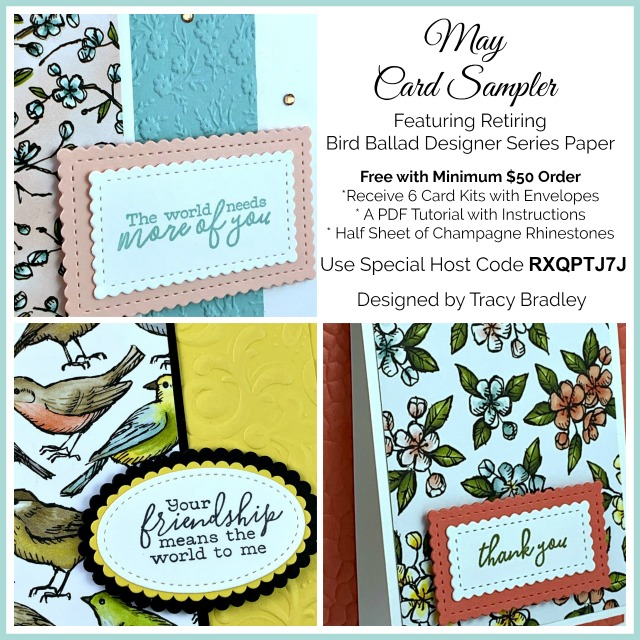 May Card Sampler