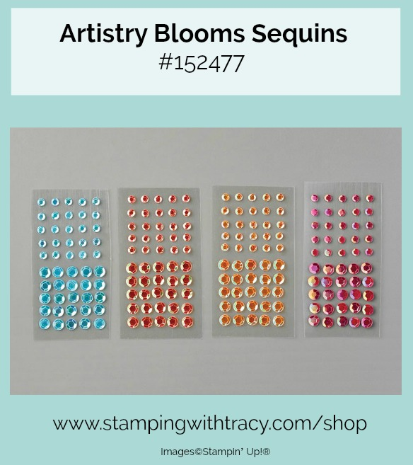 Artistry Blooms Sequins