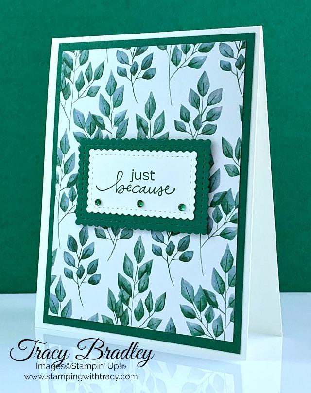 Forever Greenery Designer Series Paper