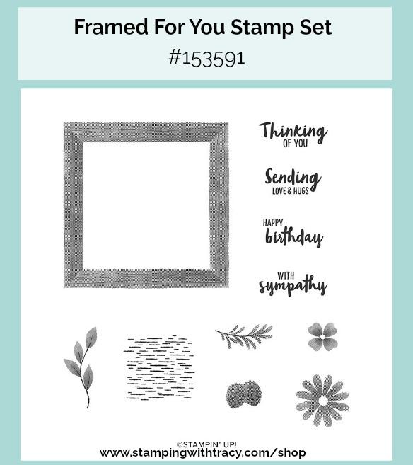 Framed For You Stampin Up