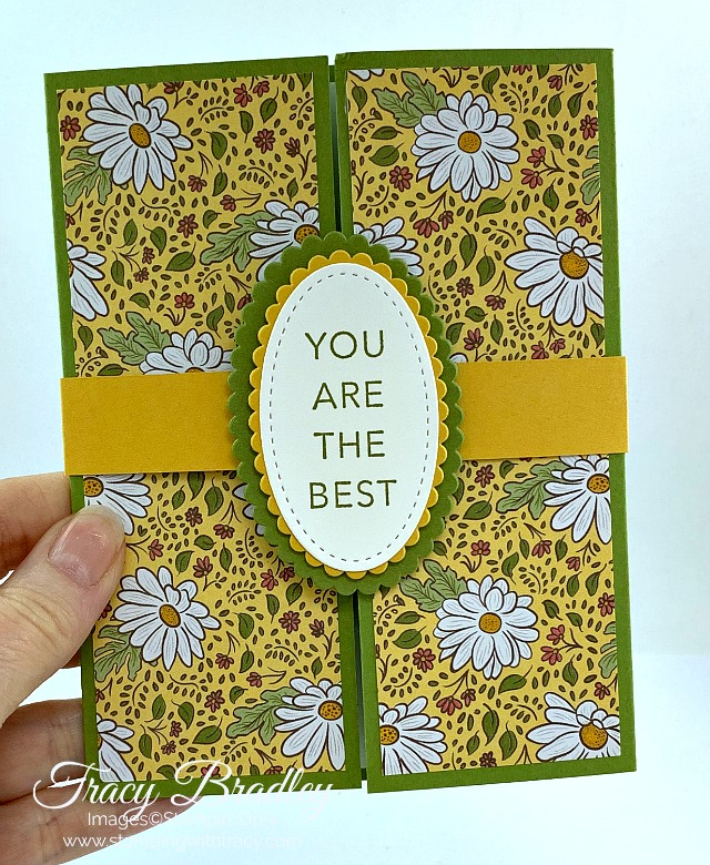 Gatefold Card Stampin Up