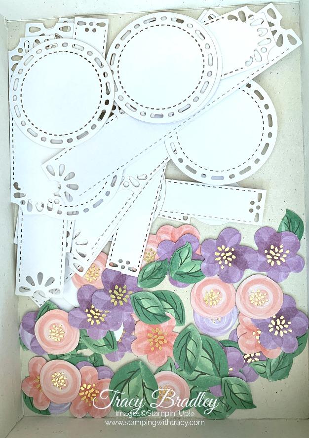 Gorgeous Posies Card Kit Embellishments