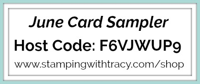 June Card Sampler Host Code