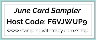June Card Sampler Host Code