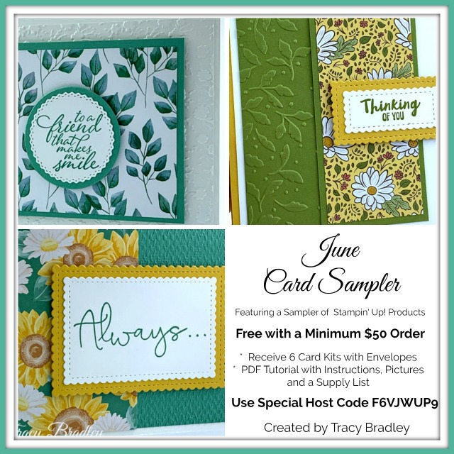 June Card Sampler