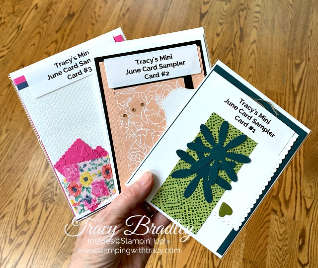 June Mini Card Sampler