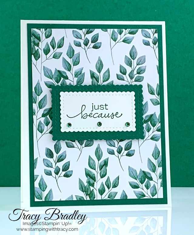 Forever Greenery Stampin Up