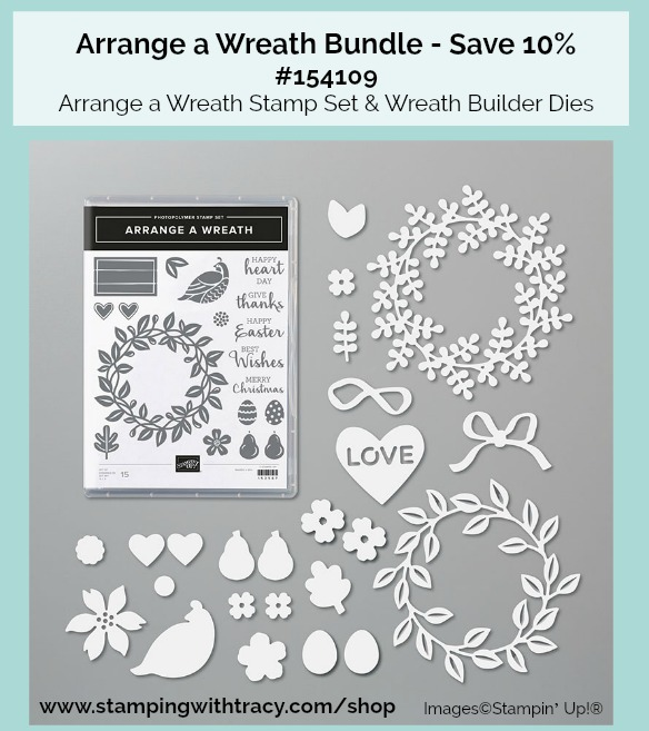Arrange a Wreath Bundle Stampin' Up!