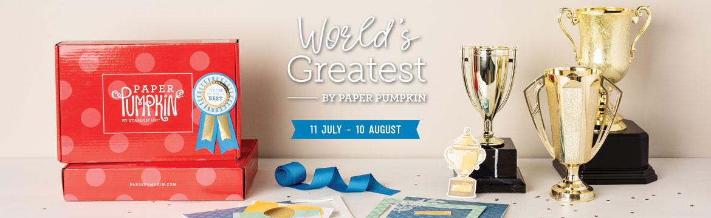 August Paper Pumpkin
