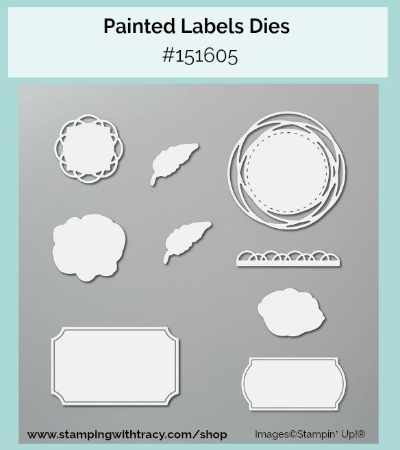 Painted Labels Dies