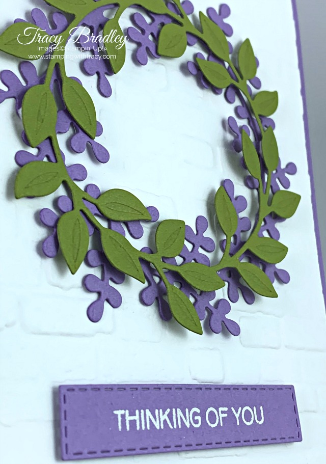Stampin' Up! Wreath Builder Dies