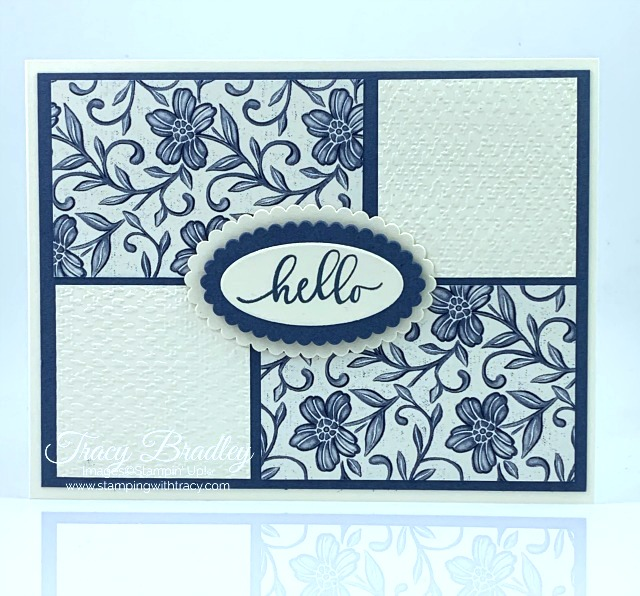 Boho Indigo Stampin Up