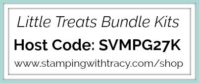 Little Treats Bundle Host Code