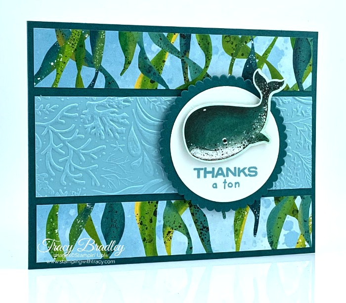 Whale Done Stamp Set Stampin Up
