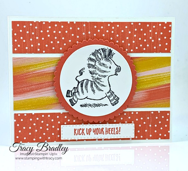 Zany Zebras Stampin Up