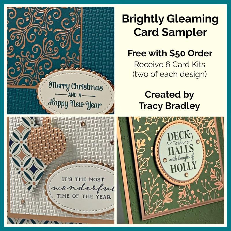 Briightly Gleaming Card Sampler