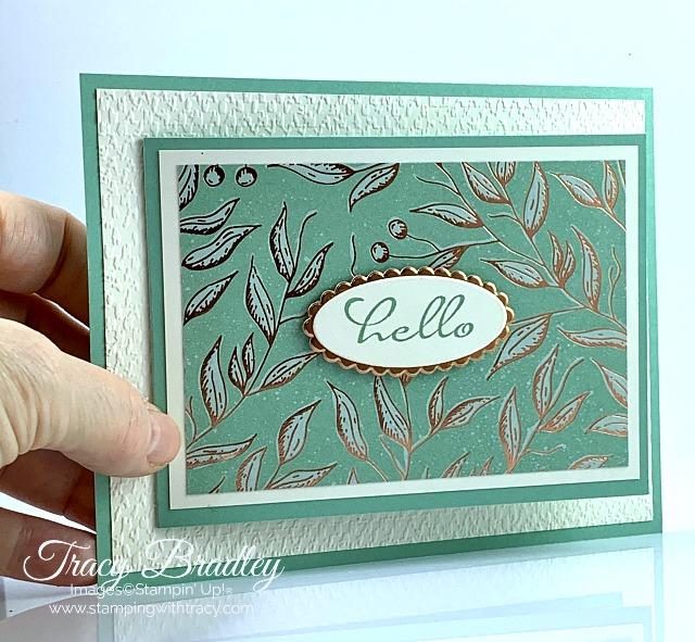 Gilded Autumn Designer Series Paper