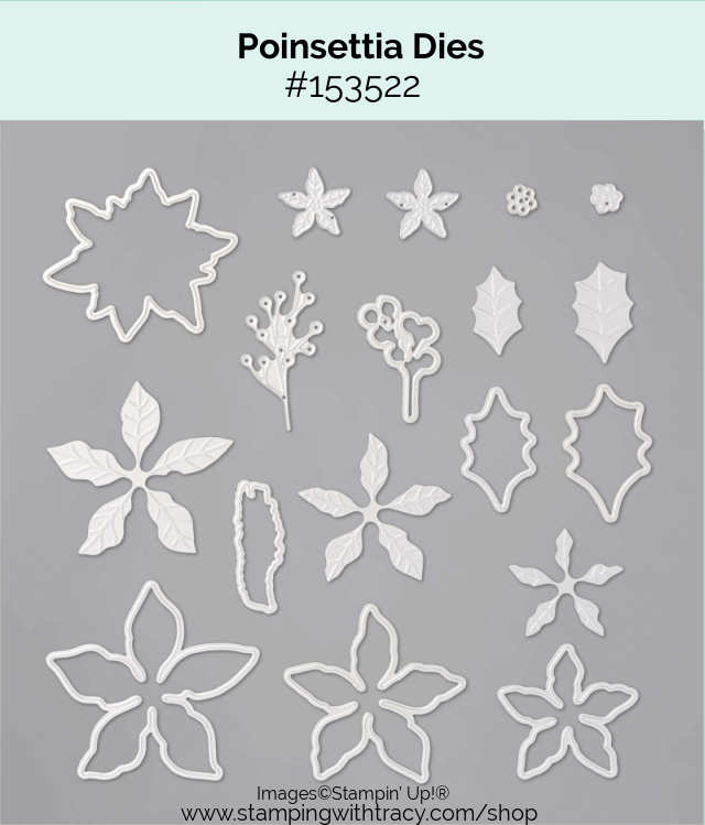 Poinsettia Dies Stampin Up
