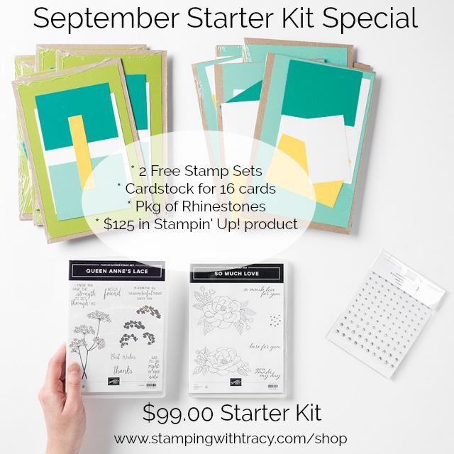 September Starter Kit Special