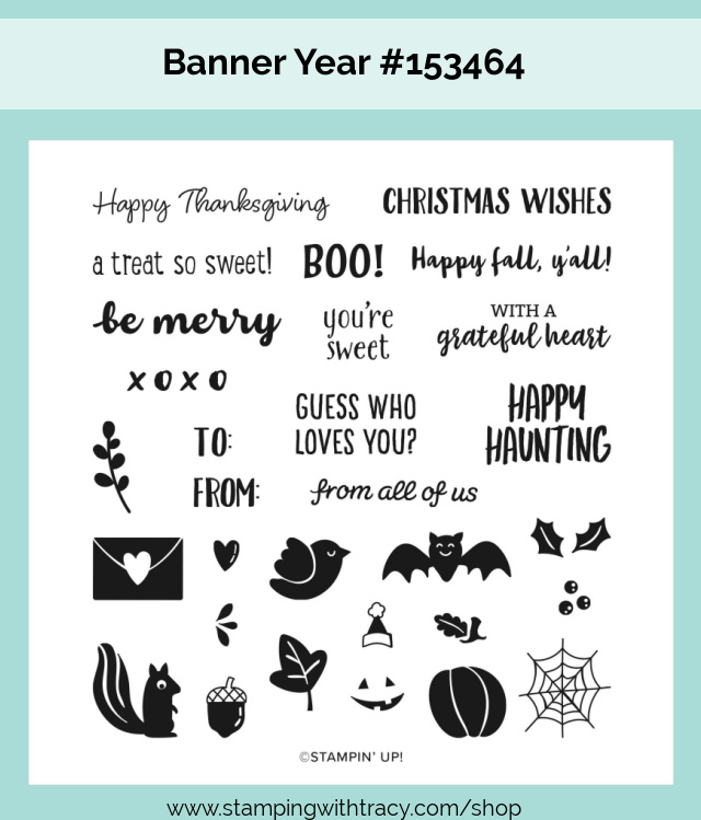 Banner Year Stampin Up