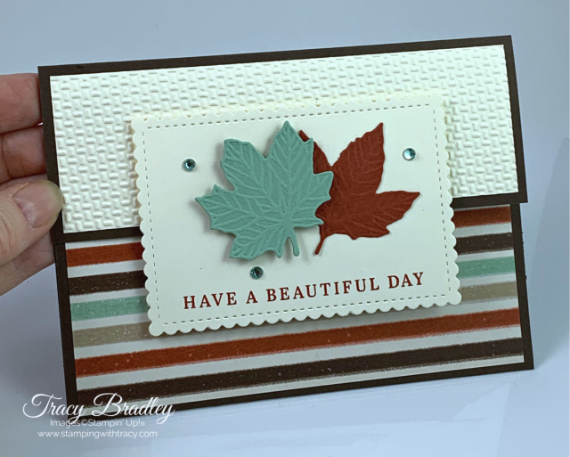 Gathered Leaves Stampin Up