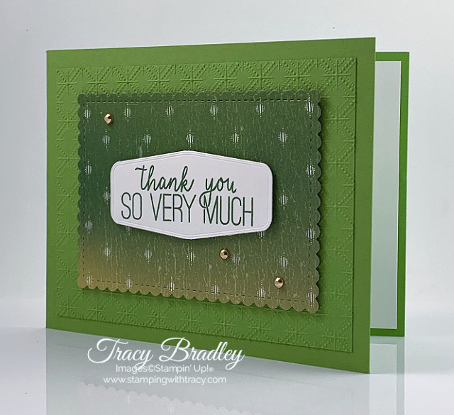 Artistry Blooms Stampin' Up!