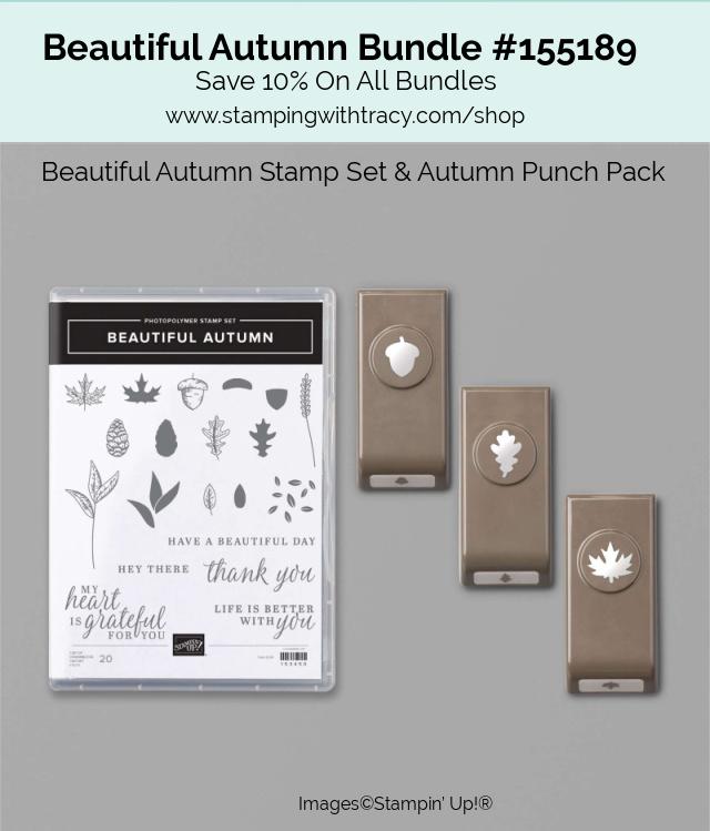 Beautiful Autumn Bundle Stampin Up