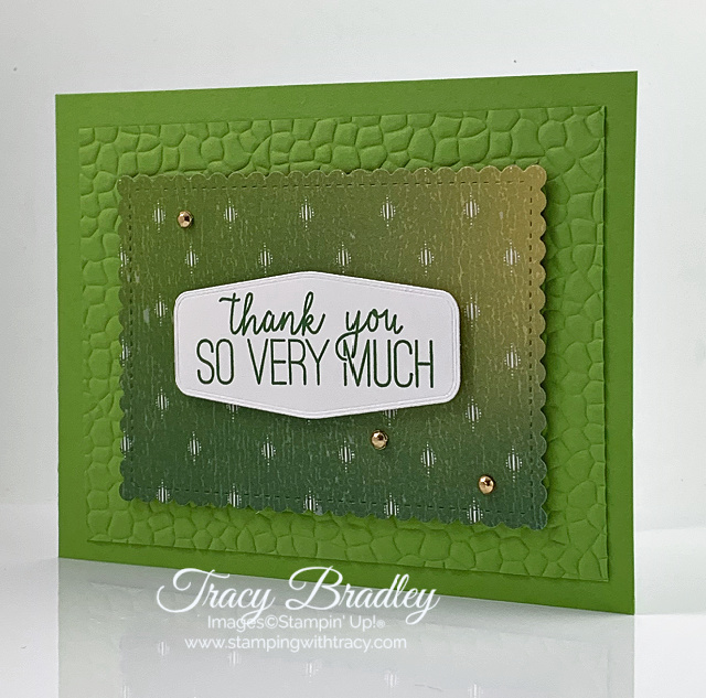 Hammered Metal Embossing Folder