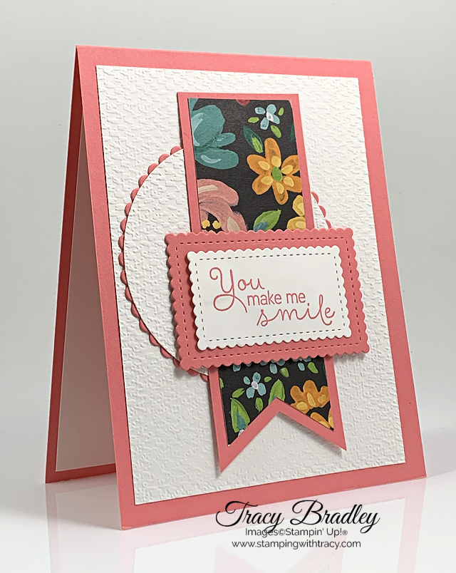 Tasteful Textile Embossing Folder