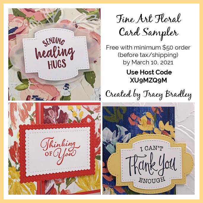 Fine Art Floral Card Sampler