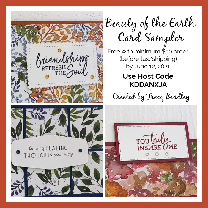 Beauty of the Earth Card Sampler