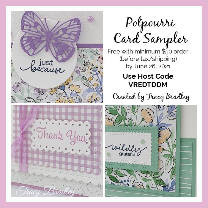 Potpourri Card Sampler